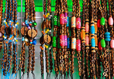Bracelet by Beads Royalty Free Stock Images