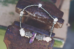 Bracelet. Beautiful esoteric and energetic bracelet Stock Photo