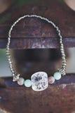 Bracelet. Beautiful esoteric and energetic bracelet Royalty Free Stock Photos