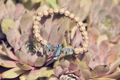 Bracelet. Beautiful esoteric and energetic bracelet Royalty Free Stock Photography