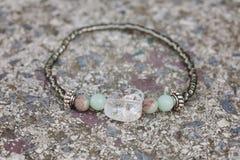 Bracelet. Beautiful esoteric and energetic bracelet Royalty Free Stock Photo