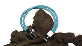 Bracelet bleu Photographie stock libre de droits