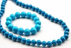 Bracelet in blue Stock Images