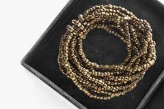 Bracelet in a box Stock Photography
