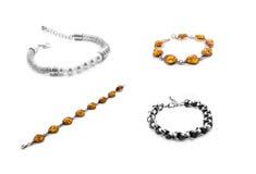 Bracelet collage Royalty Free Stock Photography