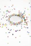 Bracelet coloré de perle Photo libre de droits