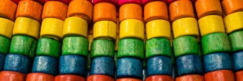 Bracelet coloré de perle Images stock