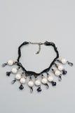 Bracelet de bijou avec la dentelle Image libre de droits