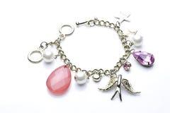 Bracelet de charme   Photographie stock