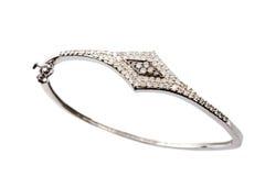 Bracelet de diamant Photo libre de droits