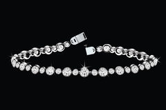 Bracelet de diamant Image stock