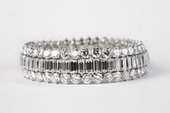 Bracelet de diamant Image libre de droits