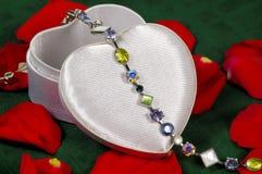 Bracelet de gemme photographie stock libre de droits