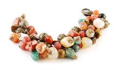 Bracelet de gemme de mélange Photo stock