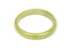Bracelet de jade Photographie stock