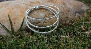Bracelet de mariage Photos libres de droits