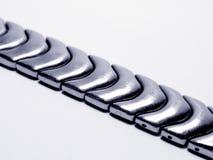 Bracelet de montre en métal Photographie stock