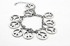 Bracelet de paix Photographie stock