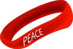 Bracelet de paix Images stock