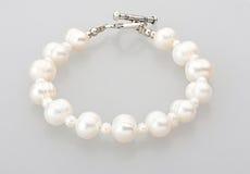 Bracelet de perle Photographie stock