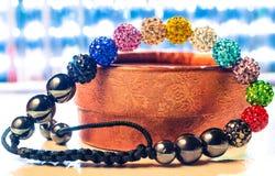 Bracelet de Shamballa Photographie stock