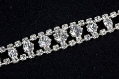 Bracelet with diamonds Stock Photography