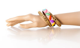 Bracelet Display Hand Royalty Free Stock Images