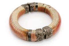 Bracelet en ivoire Photographie stock libre de droits