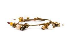 Bracelet en métal avec des pierres Photos stock