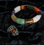 Bracelet et anneau Photos stock