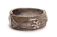 Bracelet. Fashion bracelet on white background stock photos