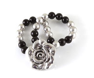 Bracelet with flower Royalty Free Stock Images