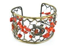 Bracelet with gems Stock Photo