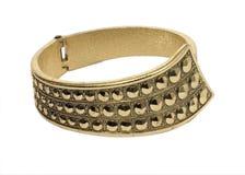 Bracelet of gold Royalty Free Stock Photos