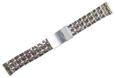 Bracelet for hours the metal Royalty Free Stock Image