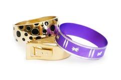Bracelet isolated on the white Stock Photography