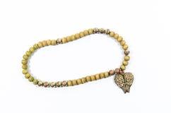 Bracelet isolated on white. Male bracelet isolated on white Stock Images