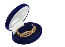 Bracelet in jewelry box Royalty Free Stock Photo