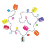 Bracelet macaroon. Vector on white background. Stock Image