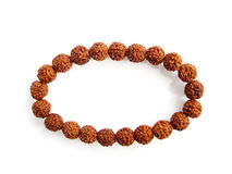 Bracelet made by seeds from the bodhi tree Stock Images