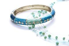 Bracelet and necklace Royalty Free Stock Photo