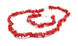 Bracelet and necklace Stock Photos
