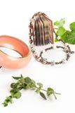 Bracelet and necklace Stock Photography
