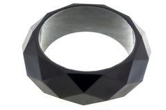 Bracelet noir Photographie stock libre de droits