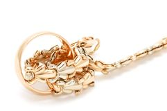 Bracelet and ring Royalty Free Stock Photography