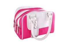 Bracelet rose de sac de type de femme Photographie stock libre de droits