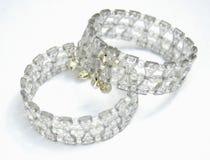 Bracelet set. Close up of a Bracelet set Royalty Free Stock Photography