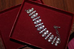 Bracelet with stones Royalty Free Stock Photo
