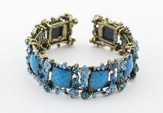 Bracelete azul Imagens de Stock