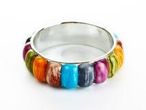 Bracelete com pedras da cor Foto de Stock Royalty Free
